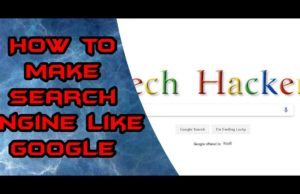 make-search-engine-like-google